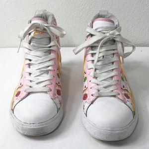 Nike Shoes - Nike Strawberry Shortcake Hi Tops Size 6